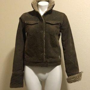 Corduroy/Furry Jacket!